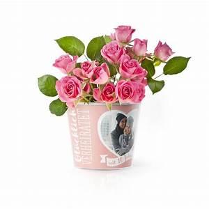 Geschenke Zur Rosenhochzeit : 10 hochzeitstag rosenhochzeit blumentopf von myfacepot ~ Frokenaadalensverden.com Haus und Dekorationen