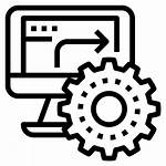 Automation Business Workflow Management Office Icon Icons
