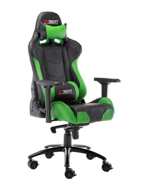 green pc gaming chair opseat master series