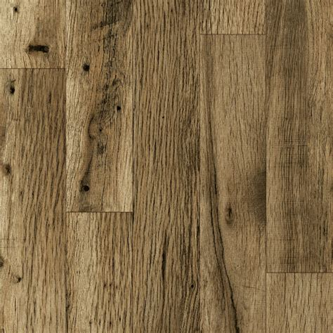 rustic laminate wood flooring shop allen roth 4 96 in w x 4 23 ft l rustic mill oak embossed laminate wood planks at lowes com