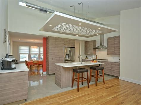 awesome  beautiful high ceiling modern kitchen design