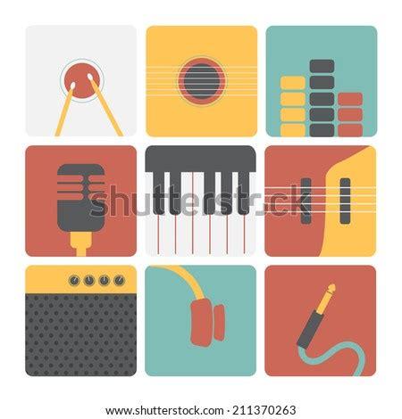set jazz instruments stock vector  shutterstock