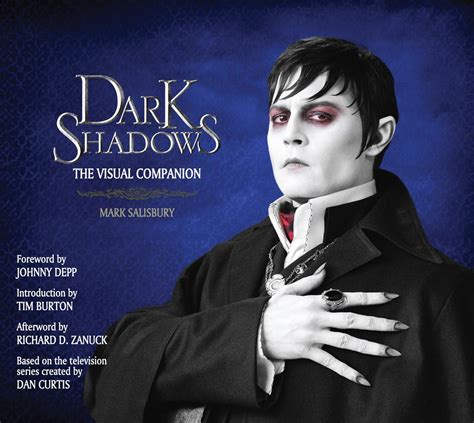 titan books dark shadows the visual companion mark