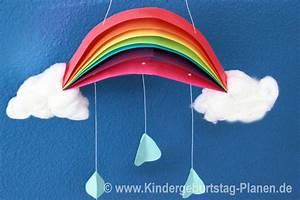 Arche Noah Basteln : regenbogen mobile kindergeburtstag ~ Yasmunasinghe.com Haus und Dekorationen