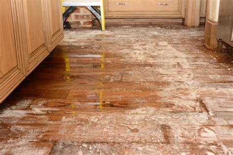 water damaged kitchen floor kitchen floor repair gurus floor 7013