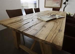 Rustikale Esstische Holz : eettafels online kopen ~ Indierocktalk.com Haus und Dekorationen