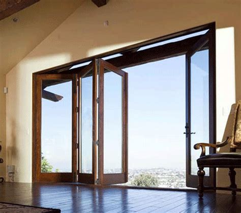 wooden folding patio door andersen a room i am