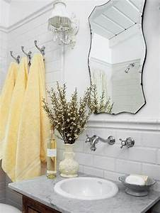 Meuble Salle De Bain Retro Chic : le porte serviette en 40 photos d 39 id es pour votre salle de bain ~ Teatrodelosmanantiales.com Idées de Décoration