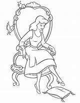 Yarmulke Coloring Cinderella Template Pages Symbols sketch template