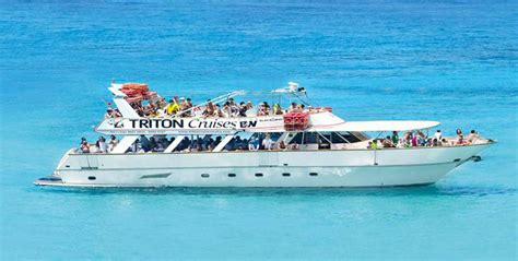 Boat Day Drinks by M V Triton Comino Blue Lagoon With Lunch And Drinks