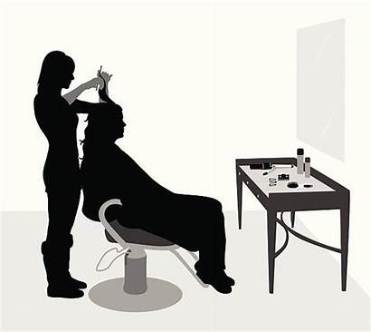 Salon Chair Clip Silhouette Illustrations Istockphoto Graphics