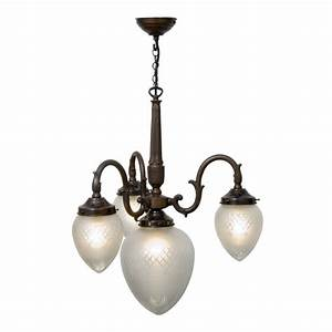 Classic victorian style ceiling pendant light with cut
