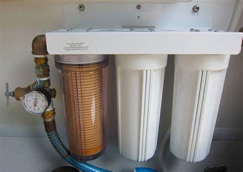 complete guide  rv water filtration trek