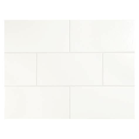 vermeere ceramic tile true white matte 3 quot x 6 quot subway tile