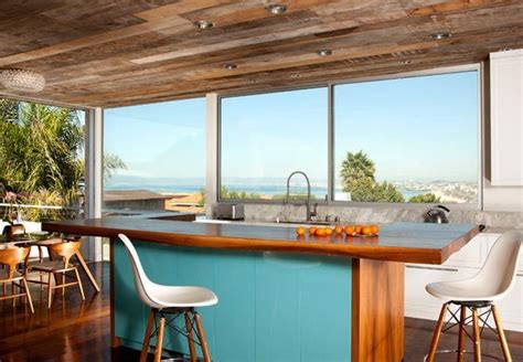 turquoise kitchen island colorful kitchen island ideas eatwell101 2969