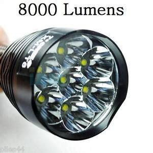 le torche 8000 lumens 7 leds puissantes 8000lm eclairage puissant led ebay