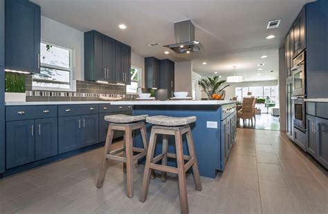 blue  white kitchens design ideas designing idea