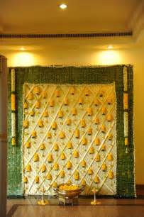 Indian Wedding Backdrop Decoration