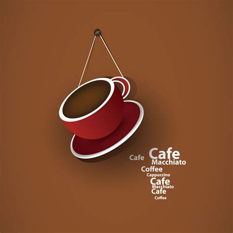 exquisite cafe vector background