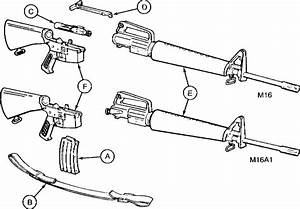 Parts Of Rifle Cal 5 56mm M16a1