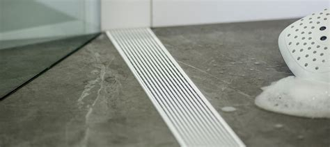linear shower drains  infinity