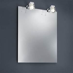 Spiegelklemmleuchte Bad Led : led bad spiegelklemmleuchte mit 3watt cob led wohnlicht ~ Markanthonyermac.com Haus und Dekorationen