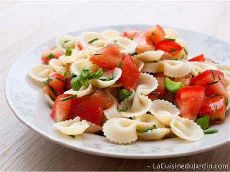 la cuisine du jardin recettes de salade composée de la cuisine du jardin