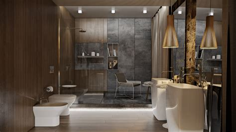 5 Luxury Bathrooms In High Detail by 5 Luxury Bathrooms In High Detail