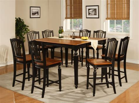 Simple Rustic Square Dining Room Table Seats 8 Painted