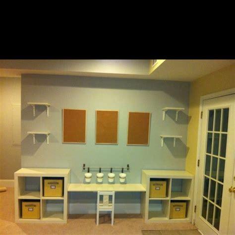 Desks, Wall shelves and Cork boards on Pinterest