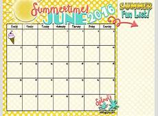 Summer Planning Calendars and ideas! inkhappi