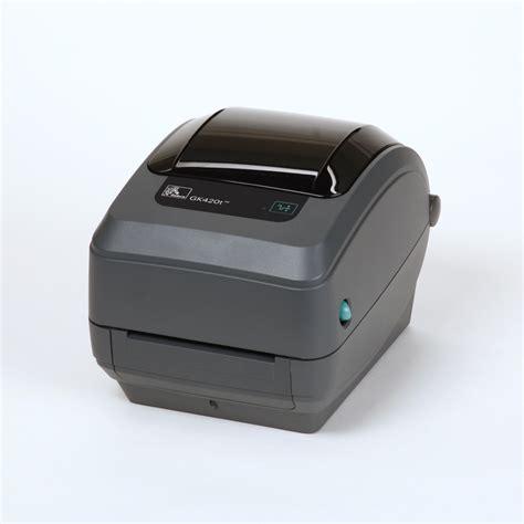 bureau imprimante zebra printer gk420t 203 dpi myzebra