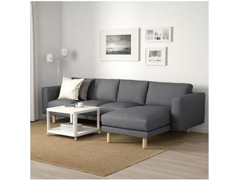 Black Ikea Lugnvik Sofa Bed With Chaise Lounge