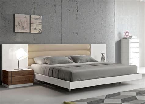 stylish headboards white platform bed modern furniture stores chicago
