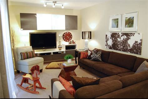 decorating a room with brown couches contemporary decor familyroom brown just decorate