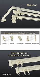 Curtain track accessories brackets functionalitiesnet for Curtain rods brackets accessories