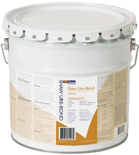 shaw flooring adhesives shaw hardwood ure bond urethane adhesive 4 gallon flooring accessory swadh