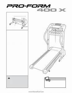 Proform 400 X Treadmill