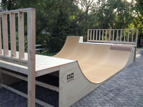 Building A Halfpipe In Your Backyard by Custom R Installation Halfpipe By Orange County Rs