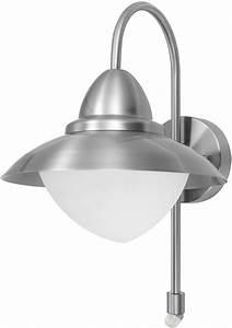 Stainless steel outdoor pir sensor wall light retro style for Outdoor sensor lighting sydney