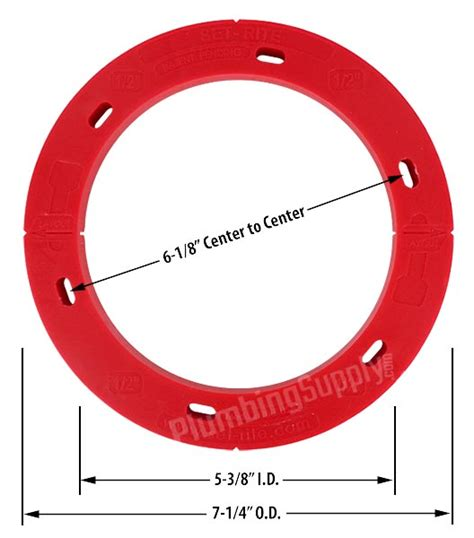 Closet Flange Spacer by Toilet Closet Flanges New Replacement And Repair