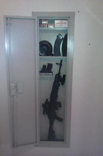 Stack On In Wall Gun Cabinet - new gunvault stack on 52 in in wall cabinet rifle safe or
