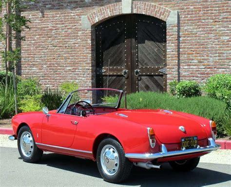 1962 Alfa Romeo Giulietta For Sale  Contact Dusty Cars
