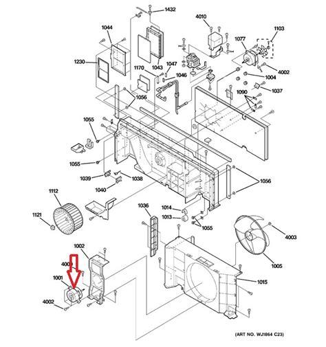 ge mongram oven fan  working wgf ge refrigerator evaporator fan motor amre