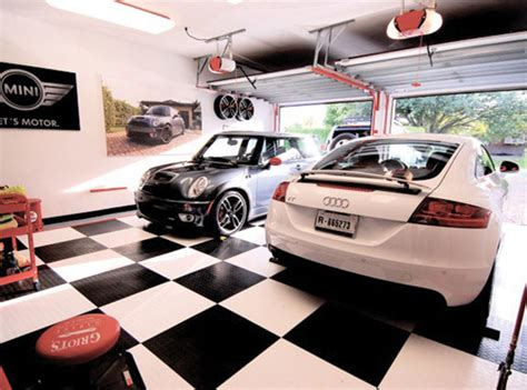 Racedeck Garage Flooring Uk by Racedeck Garage Flooring Ideas Cool Garages With Cool