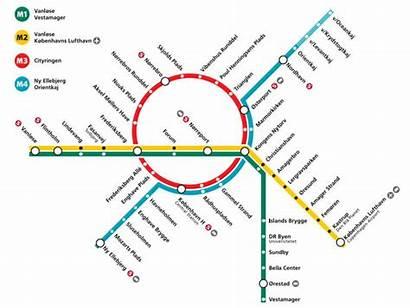 Metro Copenhagen Cityringen Line Map Copenhague Plan
