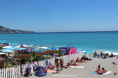 Beach In Nice France The Travel Guru