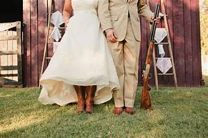 romantic outdoor wedding lace decor country western bride
