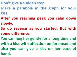 How to kiss a girl first time