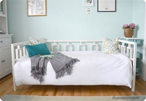 diy daybed   home office knockoffdecorcom